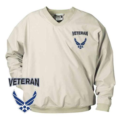 officially licensed u s air force wings veteran microfiber windbreaker