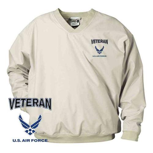 officially licensed u s air force veteran wings microfiber windbreaker