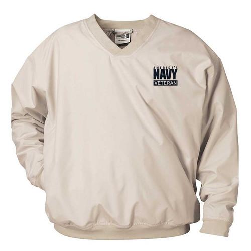 officially licensed u s navy veteran microfiber windbreaker