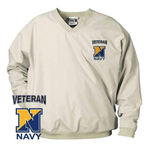 officially licensed u s navy n veteran microfiber windbreaker
