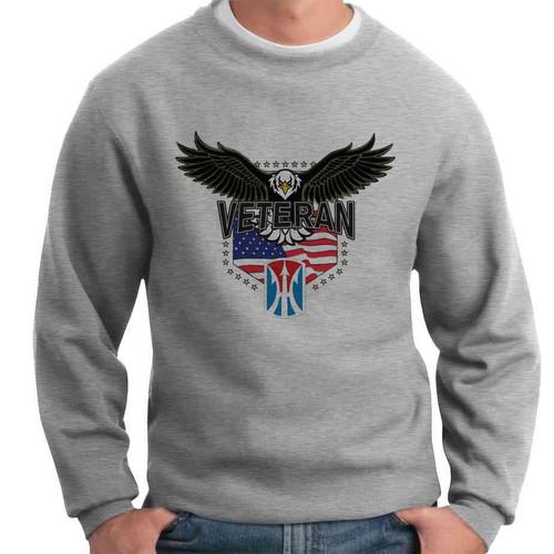 11th light infantry brigade w eagle crewneck sweatshirt