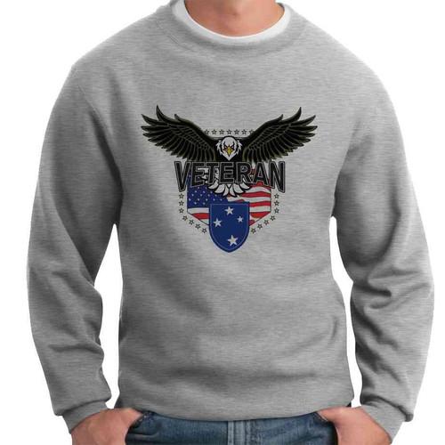 23rd infantry division w eagle crewneck sweatshirt