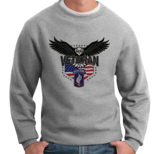 173rd airborne w eagle crewneck sweatshirt