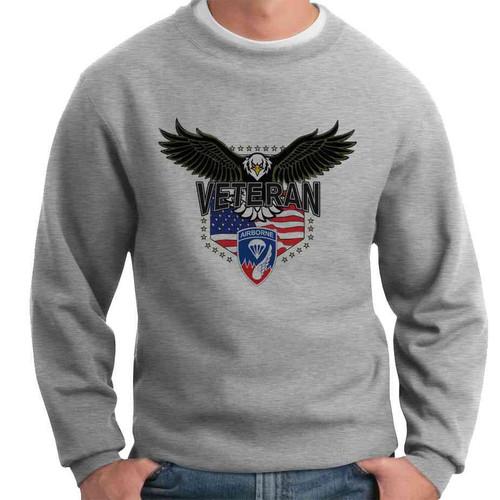 187th infantry w eagle crewneck sweatshirt
