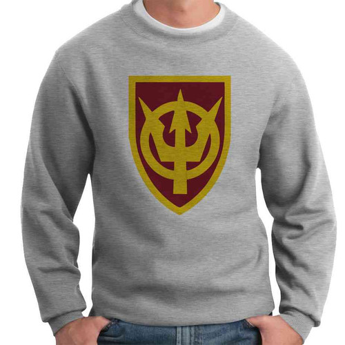 4th transportation command crewneck sweatshirt
