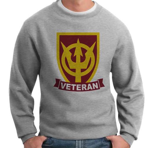 4th transportation command veteran crewneck sweatshirt