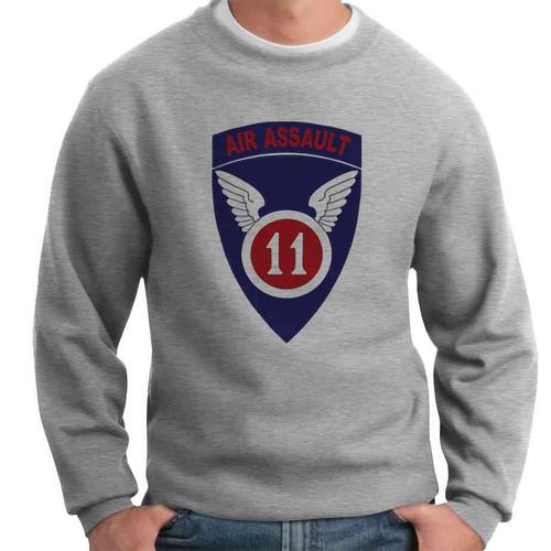 11th air assault crewneck sweatshirt