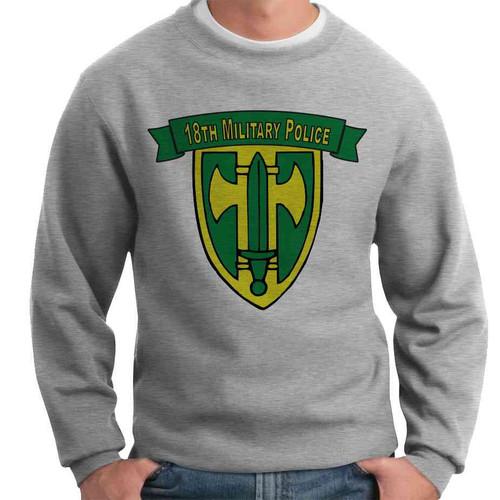 18th military police brigade crewneck sweatshirt