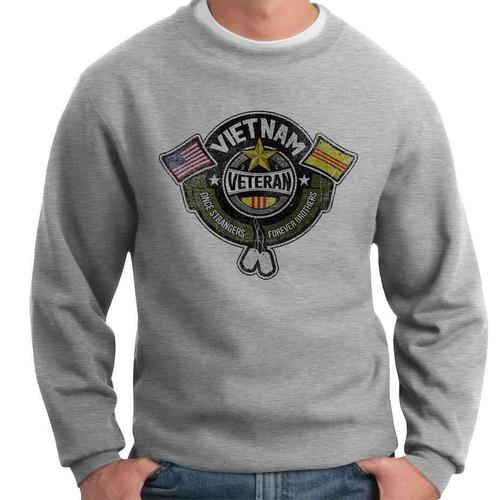 once strangers forever brothers crewneck sweatshirt