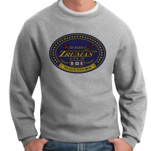 uss harry s truman crewneck sweatshirt