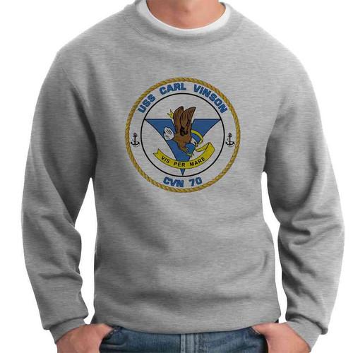 uss carl vinson crewneck sweatshirt