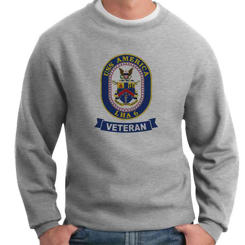 uss america veteran crewneck sweatshirt