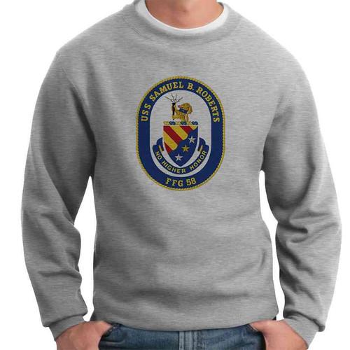 uss samuel b roberts crewneck sweatshirt