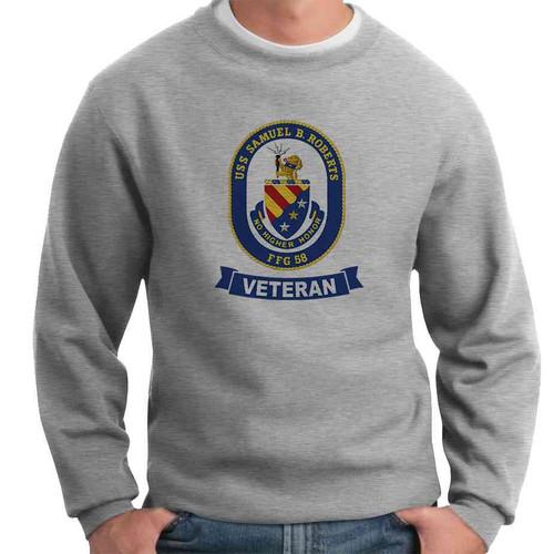uss samuel b roberts veteran crewneck sweatshirt