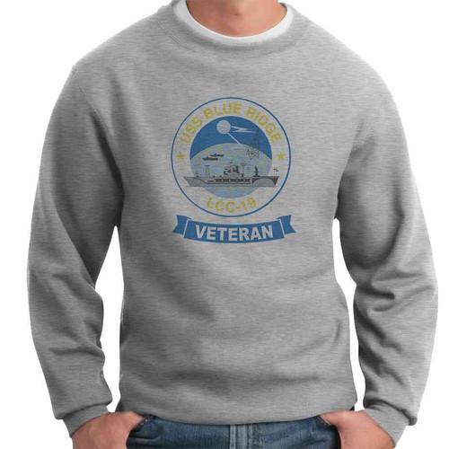 uss blue ridge veteran crewneck sweatshirt