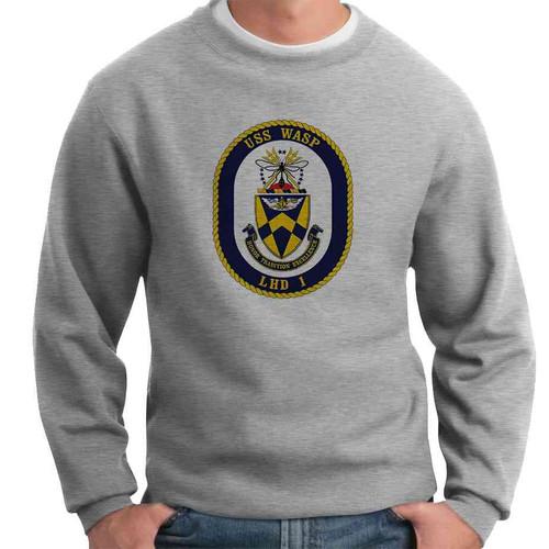 uss wasp crewneck sweatshirt