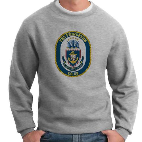 uss princeton crewneck sweatshirt