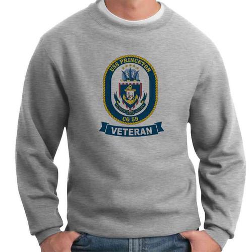 uss princeton veteran crewneck sweatshirt