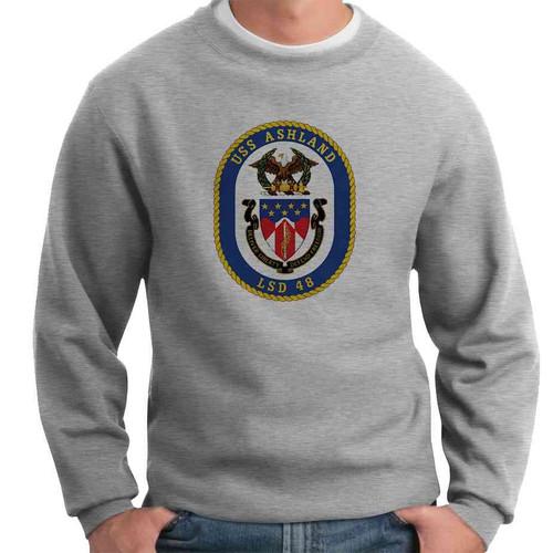 uss ashland crewneck sweatshirt