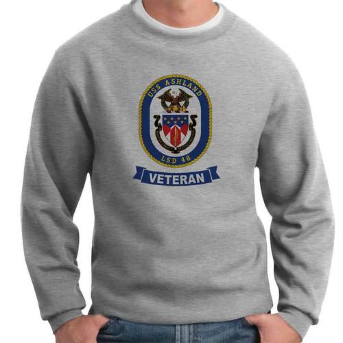 uss ashland veteran crewneck sweatshirt
