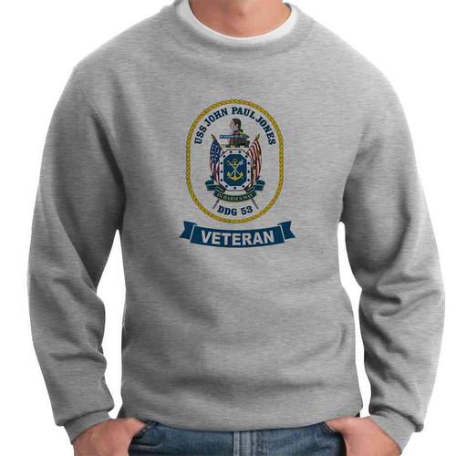 uss john paul jones veteran crewneck sweatshirt