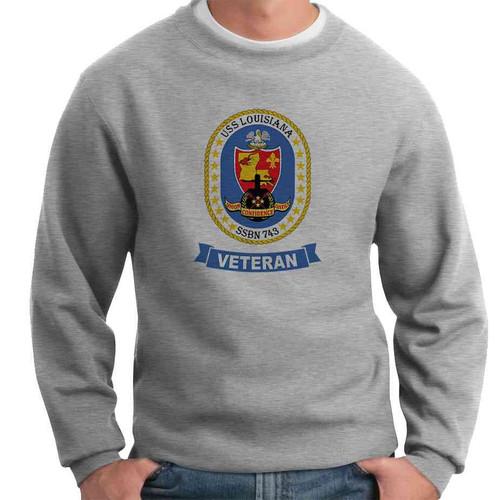 uss louisiana veteran crewneck sweatshirt