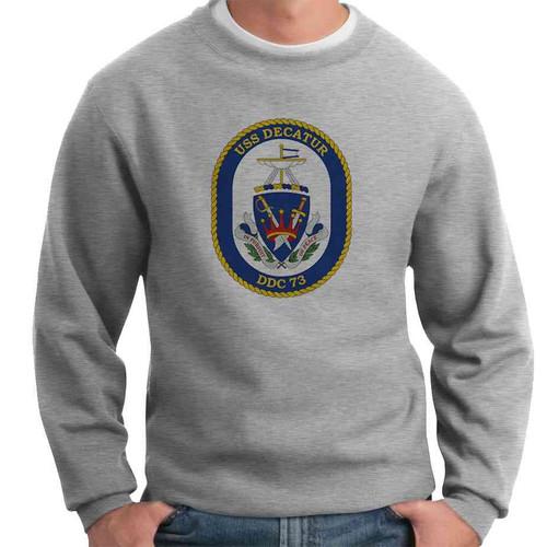 uss decatur crewneck sweatshirt