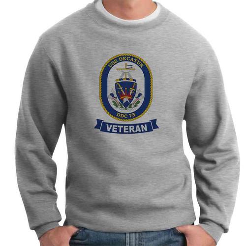 uss decatur veteran crewneck sweatshirt