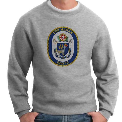 uss mahan crewneck sweatshirt
