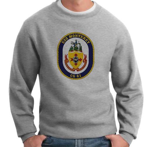 uss monterey crewneck sweatshirt