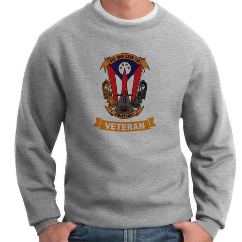uss ohio veteran crewneck sweatshirt