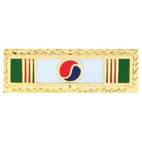 korea pres unit hat lapel pin