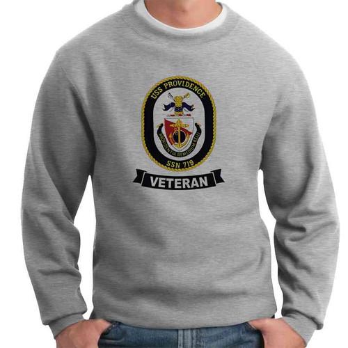 uss providence veteran crewneck sweatshirt