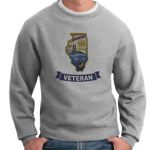 uss illinois veteran crewneck sweatshirt