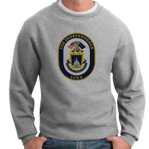 uss independence crewneck sweatshirt