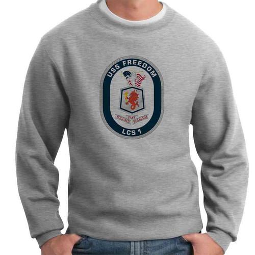 uss freedom crewneck sweatshirt