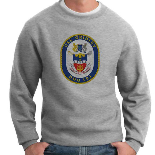 uss gridley crewneck sweatshirt