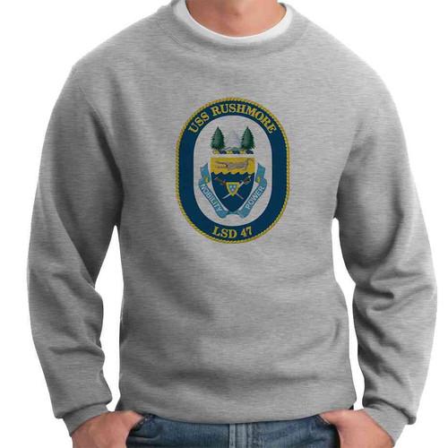 uss rushmore crewneck sweatshirt
