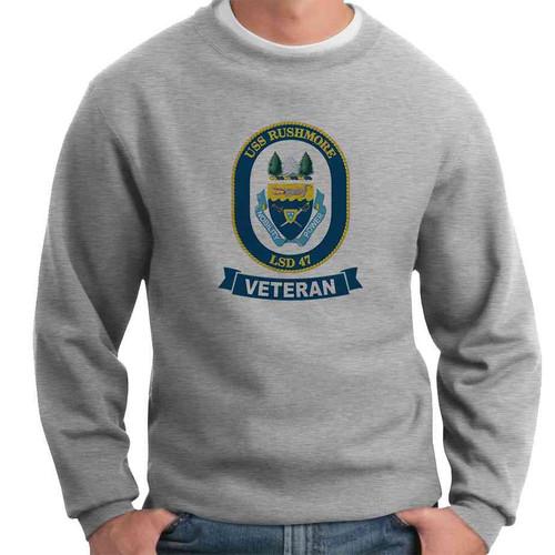 uss rushmore veteran crewneck sweatshirt