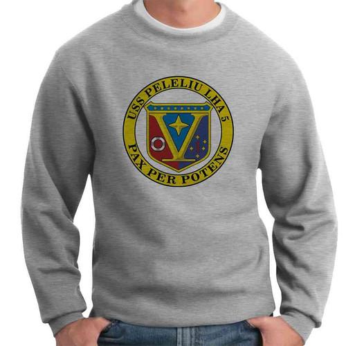 uss peleliu crewneck sweatshirt