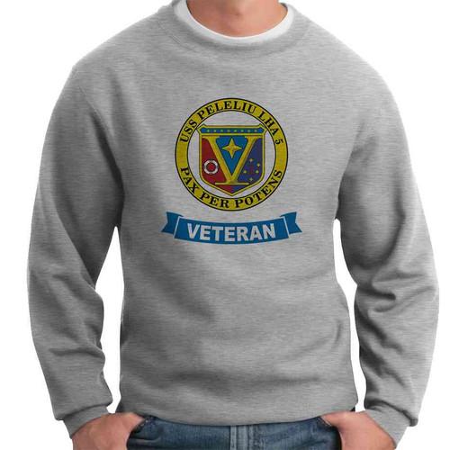 uss peleliu veteran crewneck sweatshirt