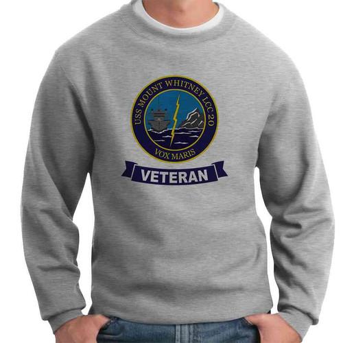 uss mount whitney veteran crewneck sweatshirt