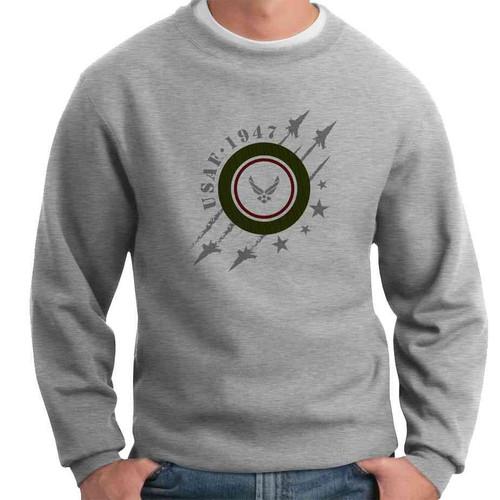 usaf 1947 crewneck sweatshirt
