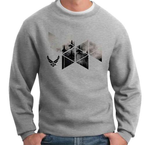 officially licensed u s air force jets crewneck sweatshirt
