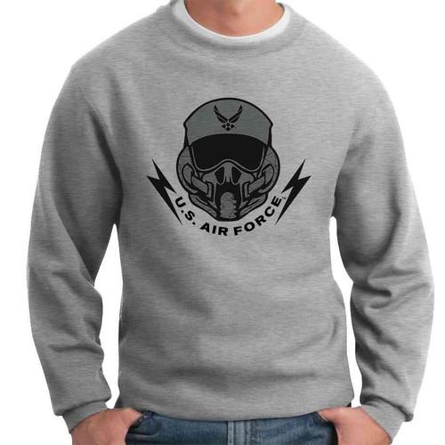 officially licensed u s air force pilot crewneck sweatshirt