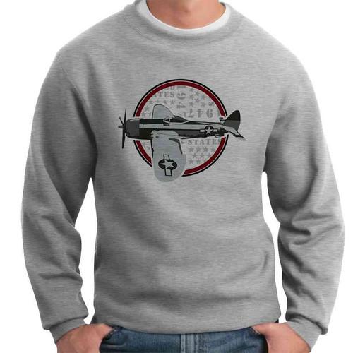 officially licensed u s air force vintage crewneck sweatshirt