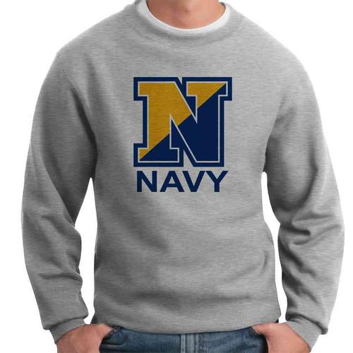 officially licensed u s navy crewneck sweatshirt