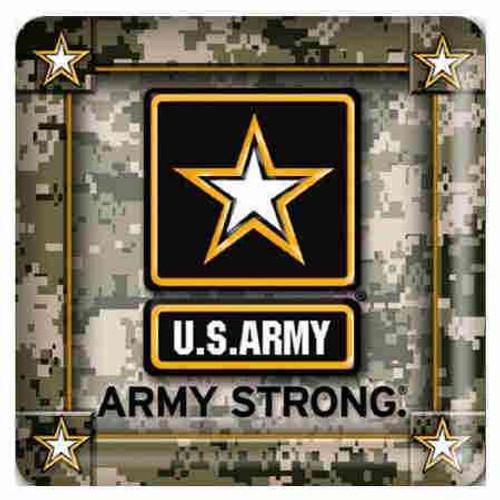 army pulpboard coasters