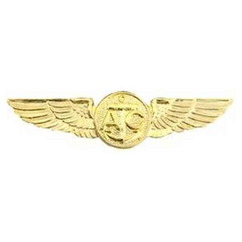 navy air crew wings hat lapel pin
