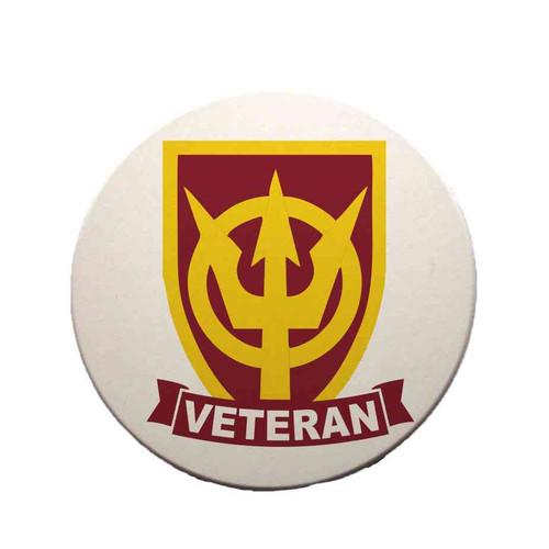 4th transportation command veteran sandstone coaster